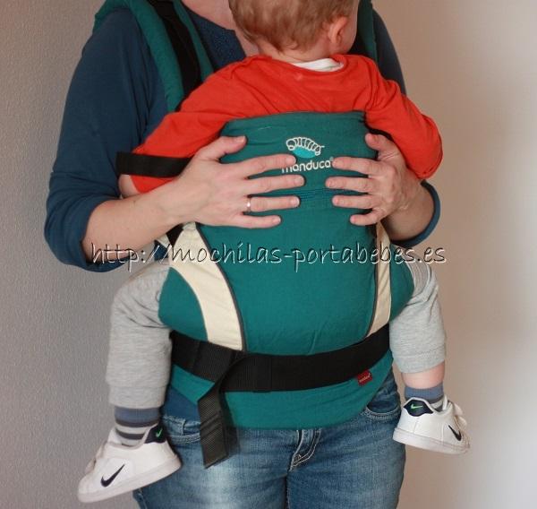 Manduca con bebé de 22 meses