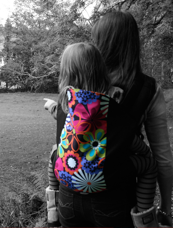 Rose and Rebellion Pre-School Carrier
