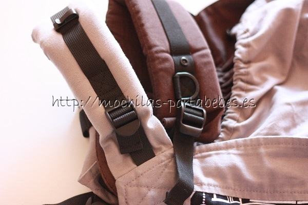 Comparativa ancho tirantes Beco Soleil vs Tula Baby Carrier