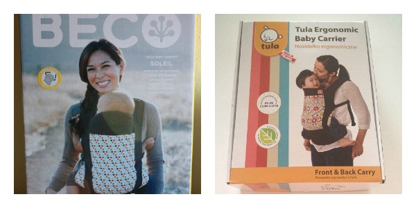 Comparativa cajas Beco Soleil vs Tula Baby Carrier