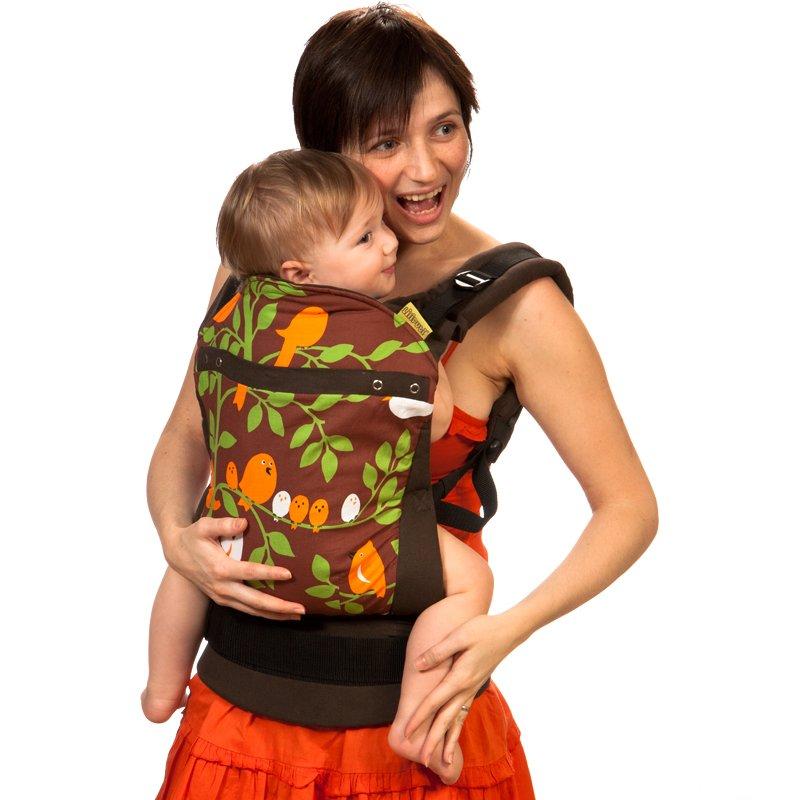 Liliputi Soft Baby Carrier modelo Tweeti Choc