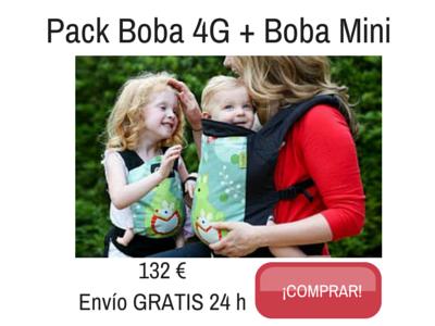 Pack Boba 4G + Boba Mini