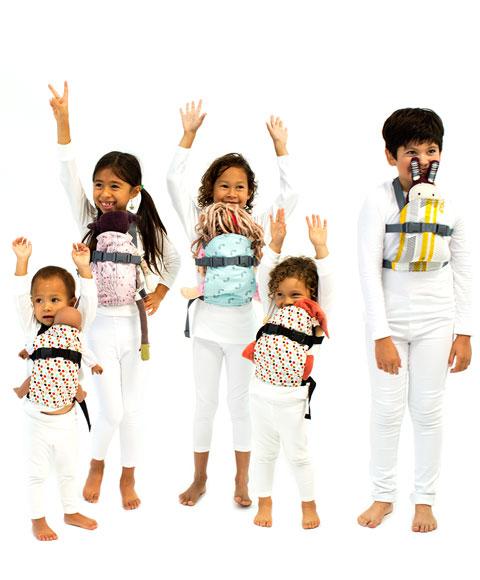 Mochilas portabebés de juguete Beco Mini