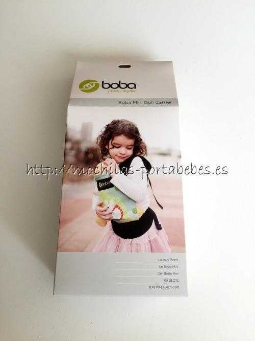 Boba Mini detalle de la caja