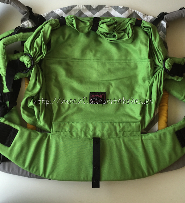 Emeibaby Toddler vs Tula Toddler detalle del alto