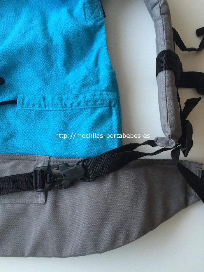 Mochila Buzzidil talla Estándar con tirantes unidos al cinturón