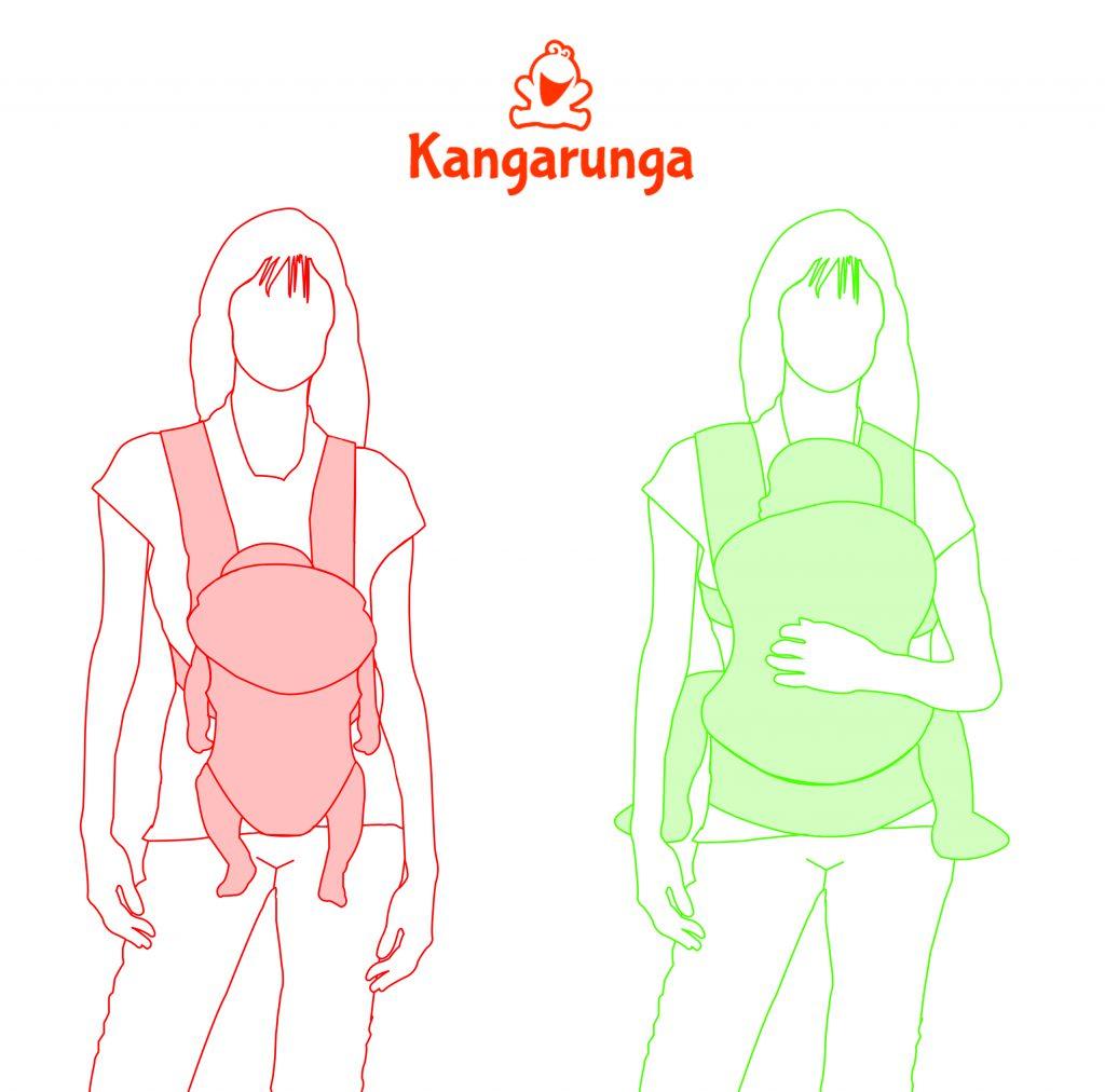 Mochilas portabebés colgonas vs ergonómicas: 6 diferencias básicas