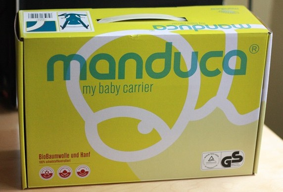 Caja de la mochila portabebés Manduca