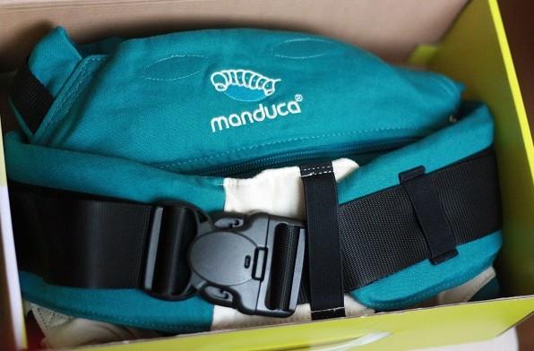 Presentacion de la mochila portabebés Manduca