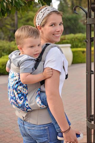 Tula Toddler Carrier modelo Ikat