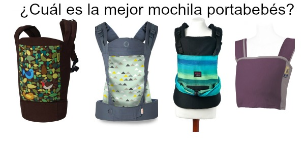 La mejor mochila portabebés