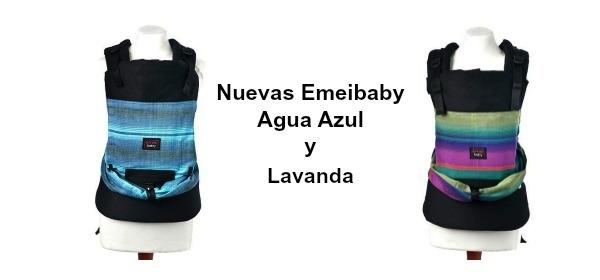 Nuevos modelos Emeibaby: Emeibaby Agua Azul y Emeibaby Lavanda