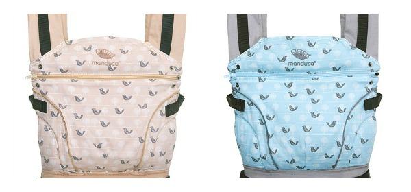 Nuevas mochilas portabebés Manduca Edición Especial Birdie
