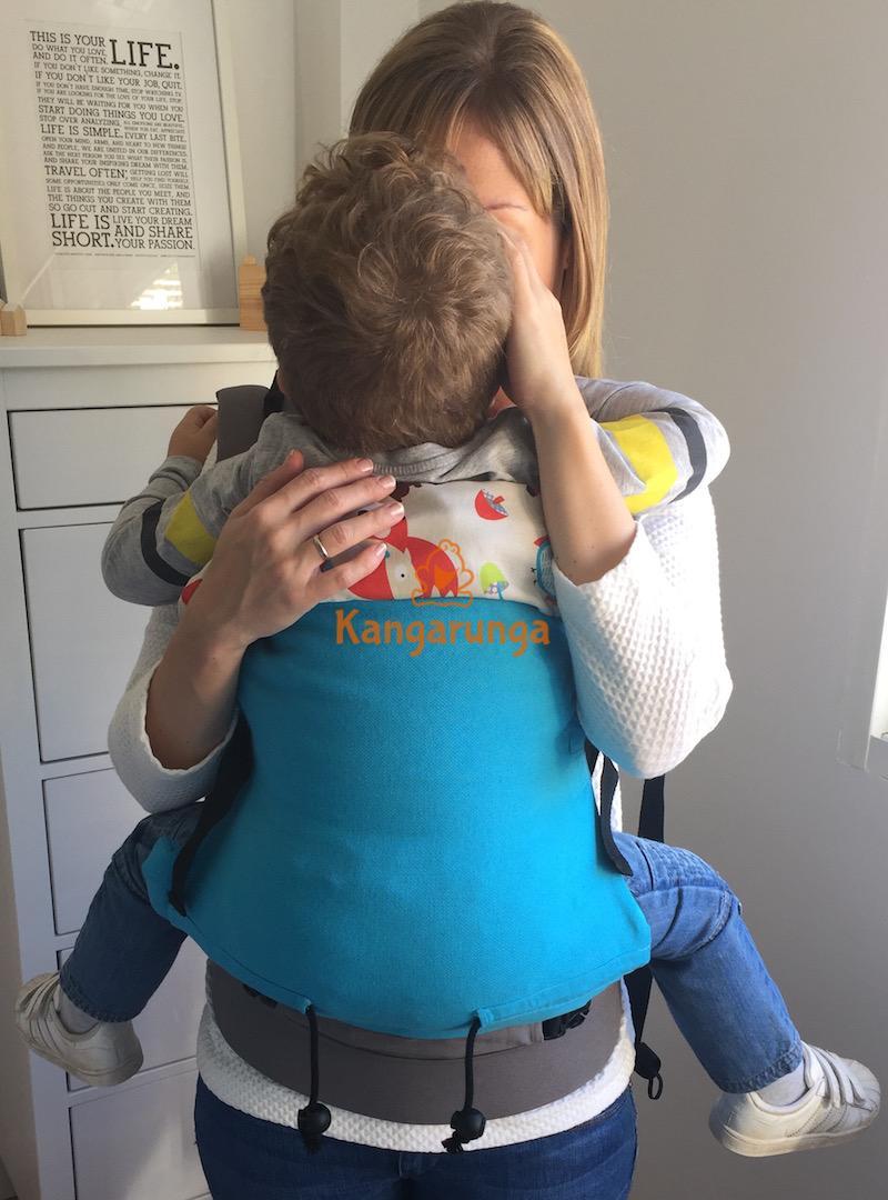 Mochila Buzzidil talla estándar con toddler