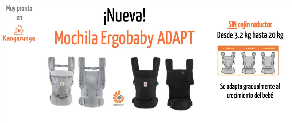 Nueva mochila Ergobaby ADAPT