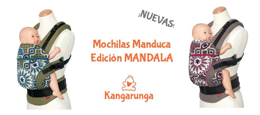 Nuevas mochilas Manduca edición Mandala