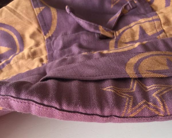 Mochila Fidella Fusion | Detalle del acolchado del cinturón