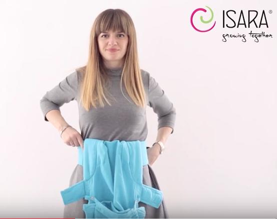 Isara vídeo de cómo ajustarla vientre con vientre
