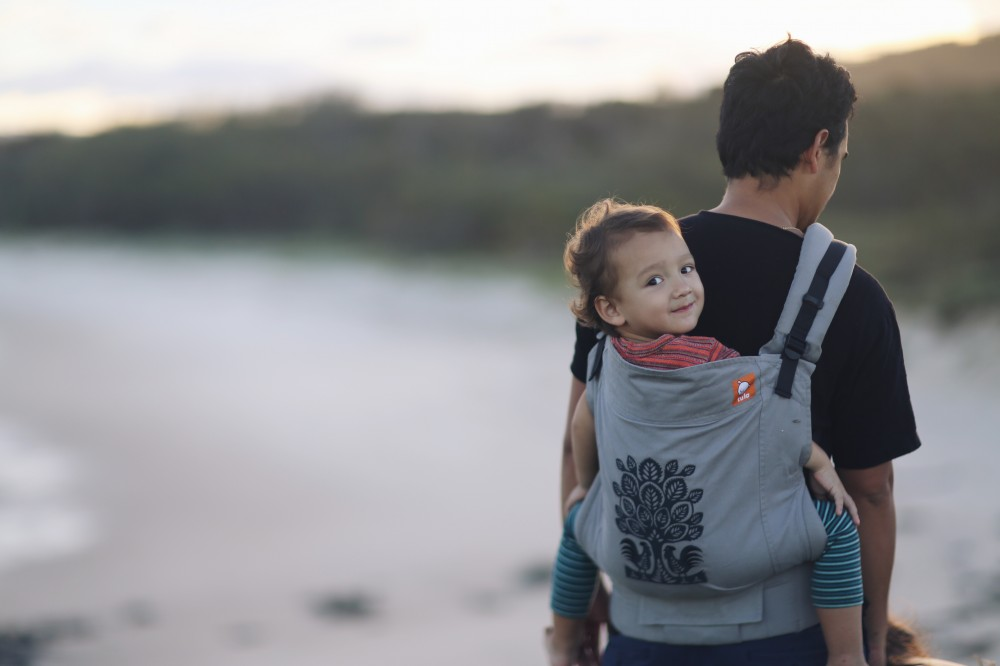 Consejos para porteo con mochila portabebés a la espalda